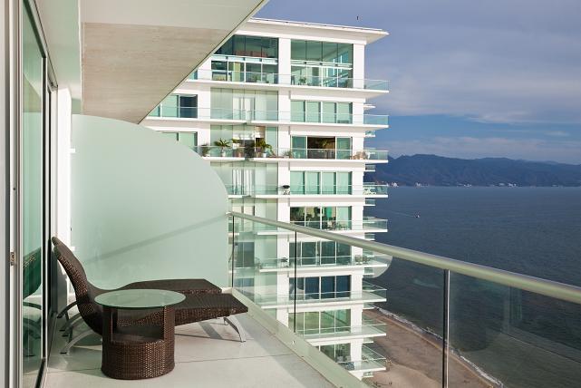 Modern Condo Balcony